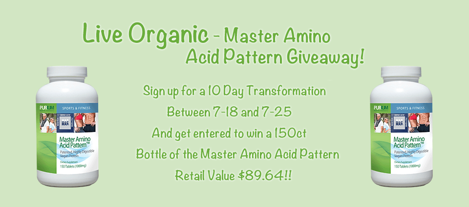 Enter to win a bottle of Master Amino Acid Pattern