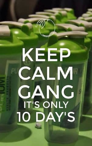 Keep Calm its Only 10 Days