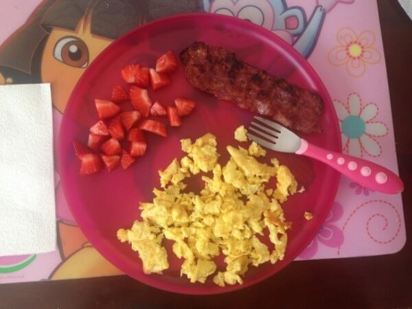 Bacon and Eggs the Healthy Way