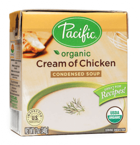 Organic Condensed Cream of Chicken Soup