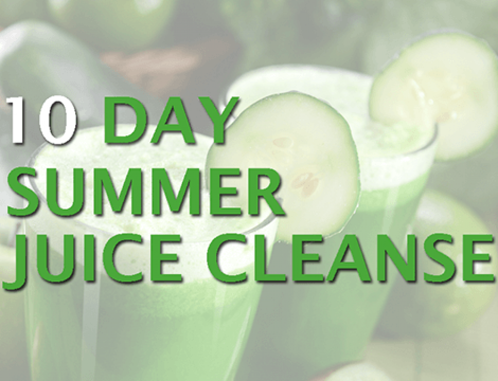 Summer Juice Cleanse